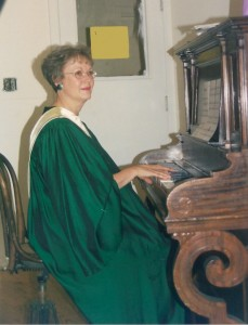 Raelene Keating - the Choir's first accompanist